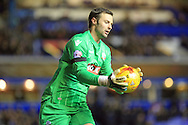 Paul Rachubka during the Sky Bet Championship match between Birmingham City and Bolton Wanderers at St Andrews, Birmingham, England on 23 February 2016. Photo by Daniel Youngs.