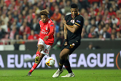 February 21, 2019 - Lisbon, Portugal - Gedson Fernandes of SL Benfica in action during the Europa League 2018/2019 footballl match between SL Benfica vs Galatasaray AS. (Credit Image: © David Martins/SOPA Images via ZUMA Wire)