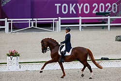 Sado Kazuki, JPN, Ludwig Der Sonnenkoenig 2, 145 <br /> Olympic Games Tokyo 2021<br /> © Hippo Foto - Stefan Lafrentz<br /> 24/07/2021