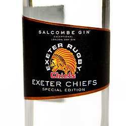 Exeter Chiefs miniature gin - Mandatory by-line: Robbie Stephenson/JMP - 29/10/2019 - RUGBY - JMP HQ - Exeter, England - Exeter Chiefs Product Shoot