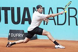 May 8, 2018 - Madrid, Spain - American Jack Sock during Mutua Madrid Open 2018 at Caja Magica in Madrid, Spain. May 08, 2018. (Credit Image: © Coolmedia/NurPhoto via ZUMA Press)