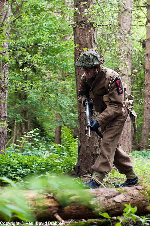 Northern World War Two Association Private Battle.<br /> 14  May 2011<br /> Images © Paul David Drabble