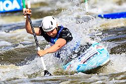 Bizjak Nina of Slovenia competing in Finals during Day 2 of 2018 ECA Canoe Slalom European Championships, on June 2nd, 2018 in Troja , Prague, Czech Republic. Photo by Grega Valancic / Sportida