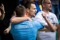 Milivoje Novakovic of Slovenia during the EURO 2016 Qualifier Group E match between Slovenia and England at SRC Stozice on June 14, 2015 in Ljubljana, Slovenia. Photo by Grega Valancic