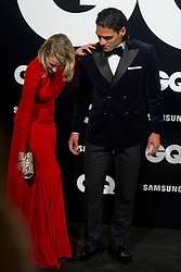 Radamel Falcao and Lorelei Taron during the GQ Men Of The Year Awards 2012, Palace Hotel, Madrid, Spain. November 19, 2012.  Photo by Belen Diaz / DyD Fotografos / i-Images...SPAIN OUT