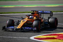 August 30, 2019, Spa-Francorchamps, Belgium: Motorsports: FIA Formula One World Championship 2019, Grand Prix of Belgium, ..#55 Carlos Sainz jr. (ESP, McLaren F1 Team) (Credit Image: © Hoch Zwei via ZUMA Wire)