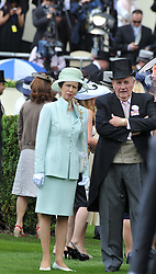 HRH THE PRINCESS ROYAL at day 1 of the Royal Ascot Racing Festival 2012 held on 19th June 2012.