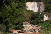 Conceicao do Castelo_ES, Brasil...Cachoeira da fumaca em Conceicao do Castelo...Fumaca waterfall in Conceicao do Castelo...Foto: LEO DRUMOND / NITRO