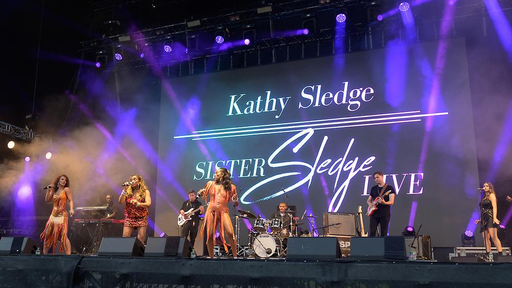 Sister Sledge featuring Cathy Sledge at The Playground Festival  Rouken Glen Park, Glasgow, Scotland26-09-21