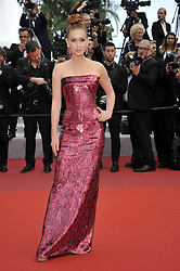 Marina Ruy Barbosaattending The Gangster, The Cop, The Devil premiere, during the 72nd Cannes Film Festival attending the Oh Mercy! premiere, during the 72nd Cannes Film Festival.