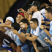 FOXBOROUGH, MASSACHUSETTS - JUNE 18:  Fans take pictures of Lionel Messi #10 of Argentina as he leaves the field after the Argentina Vs Venezuela Quarterfinal match of the Copa America Centenario USA 2016 Tournament at Gillette Stadium on June 18, 2016 in Foxborough, Massachusetts. (Photo by Tim Clayton/Corbis via Getty Images)