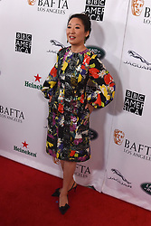 September 15, 2018 - Beverly Hills, California, USA - SANDRA HO attends the 2018 BAFTA Los Angeles + BBC America TV Tea Party at the Beverly Hilton in Beverly Hills. (Credit Image: © Billy Bennight/ZUMA Wire)