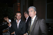 Anahita Resort launch party. Wallace Collection. London. 12 September 2007. ( Photo by Dafydd Jones)  Hugo Campbell-Davies;Pascal Prigent  -DO NOT ARCHIVE-© Copyright Photograph by Dafydd Jones. 248 Clapham Rd. London SW9 0PZ. Tel 0207 820 0771. www.dafjones.com.