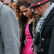NLD/Amsterdam/20110108 - Uitvaart Boney M zanger Bobby Farrell, dochter Zanillya