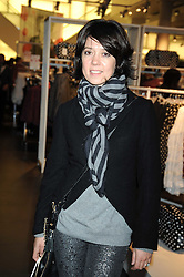 Stylist KATY ENGLAND at a preview of the H&M Comme des Garcons collection held at H&M Regent Stret, London on 12th November 2008.