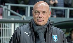 Cheftræner Uwe Rösler (Malmö FF) under kampen i UEFA Europa League mellem FC København og Malmö FF den 12. december 2019 i Telia Parken (Foto: Claus Birch).