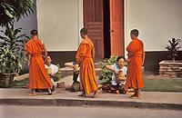 Receiving Alms, Luang Prabang, Laos