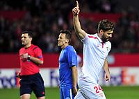 Fotball<br /> 18.02.2016<br /> UEFA Europa League<br /> Sevilla v Molde<br /> Foto: Cordon Press/Digitalsport<br /> NORWAY ONLY<br /> <br /> Fernando Llorente (24) - Sevilla<br /> Mattias Mostrøm - Molde