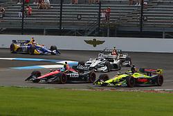 May 12, 2018 - Indianapolis, USA - 6 ROBERT WICKENS (CAN) SCHMIDT PETERSON MOTORSPORTS (USA) HONDA (Credit Image: © Panoramic via ZUMA Press)