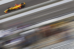May 18, 2018 - Indianapolis, Indiana, United States of America - RYAN HUNTER-REAY (28) of the United States brings his car down the frontstretch during ''Fast Friday'' practice for the Indianapolis 500 at the Indianapolis Motor Speedway in Indianapolis, Indiana. (Credit Image: © Chris Owens Asp Inc/ASP via ZUMA Wire)