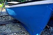 Local boat hull, Cayman Brac, Cayman Islands, British West Indies,