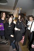 Julie Brangstrup, Jasmine Guinness and Honey Bowdrey, Make-A-Wish Charity Evening at Selfridges, Selfridges,  400 Oxford St. London. 17 December 2007. -DO NOT ARCHIVE-© Copyright Photograph by Dafydd Jones. 248 Clapham Rd. London SW9 0PZ. Tel 0207 820 0771. www.dafjones.com.