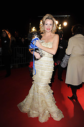 AMANDA HOLDEN at the Collars & Coats Gala Ball celebrating 150 years of Battersea Dogs & Cats Home held at Battersea Power Station, London on 25th November 2010.