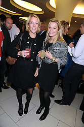 Left to right, DAISY BLOUNT sister of singer James Blunt and LAUREN GREEN at a party hosted by Links of London to launch their new Driver Chicane Chronograph Watch held at Lonks, Sloane Square, London on 24th September 2008.