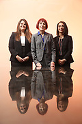 SHOT 12/4/19 11:32:00 AM - McGuane & Hogan, P.C., a Colorado family law firm located in Denver, Co. Includes attorneys Kathleen Ann Hogan, Halleh T. Omidi and Katie P. Ahles. (Photo by Marc Piscotty / © 2019)