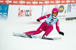 Kamila Karpiel of Poland during 2nd Round at Day 1 of World Cup Ski Jumping Ladies Ljubno 2019, on February 8, 2019 in Ljubno ob Savinji, Slovenia. Photo by Matic Ritonja / Sportida