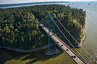 Lions Gate Bridge, Stanley Park
