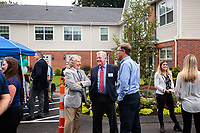 Chestnut Hill Realty Hancock Village Townhomes Ribbon Cutting Ceremony on July 13, 2021