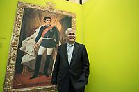"""11 MAY 2012, BERLIN/GERMANY:<br /> Horst Seehofer, CSU, Ministerpraeisdent Bayern, eroeffnet die Ausstellung """"Goetterdaemmerung - Koenig Ludwig II. und seine Zeit"""", Bundesrat<br /> IMAGE: 20120511-02-021"""