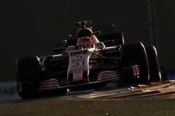 November 26, 2017 - Abu Dhabi, United Arab Emirates - Motorsports: FIA Formula One World Championship 2017, Grand Prix of Abu Dhabi, .#31 Esteban Ocon (FRA, Sahara Force India F1 Team) (Credit Image: © Hoch Zwei via ZUMA Wire)
