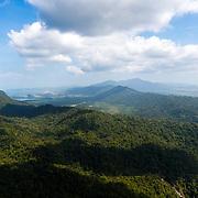 Langkawi panoramic landscape view from Gunung Machinchang
