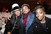 l to r: Erykah Badu, Bilal and Estelle at The 3rd Annual Black Girls Rock Awards held at the Rose Building at Lincoln Center in New York City on November 2, 2008..BLACK GIRLS ROCK! Inc. is a 501 (c)(3) nonprofit, youth empowerment mentoring organization established for young women of color.  Proceeds from ticket sales will benefit BLACK GIRLS ROCK! Inc.?s mission to empower young women of color via the arts.  All contributions are tax deductible to the extent allowed by