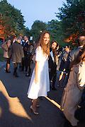 PRINCESS ALIA AL SENUSSI, The Serpentine Contempories party. Kensington Gdns. 16 September 2013
