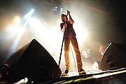 Cage The Elephant performing at the Pageant in St. Louis on December 13, 2011.