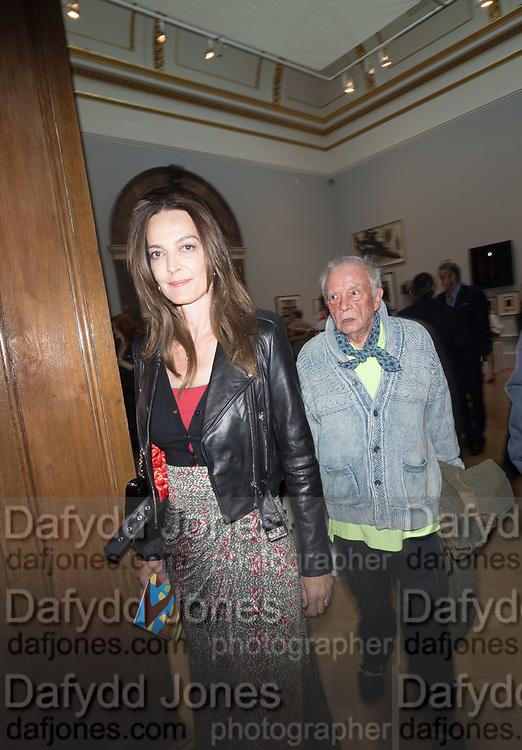 CATHERINE BAILEY; DAVID BAILEY, Royal Academy of Arts Summer Party. Burlington House, Piccadilly. London. 7June 2017