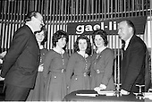 1963 - Gael - Linn Annual Debating Competition for Secondary Schools at the Shelbourne Hotel