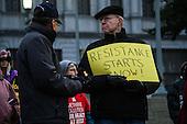 Inauguration Day Vigil for Democracy - Harrisburg, PA - 1/20/2017