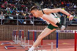 Penn Relaysolympic development men 110 meter hurdle championship,
