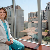 Dr. Sara Jurney, a 2000 graduate of the University of Texas at Houston Medical School who has only practiced medicine for four years but still earned the highest honor at Hermann Memorial Hospital's and was named theChildren's Memorial Hermann Hospital's Physician of the Year.