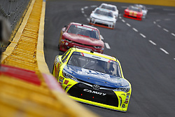 May 26, 2018 - Concord, North Carolina, United States of America - Brandon Jones (19) brings his car through the turns during the Alsco 300 at Charlotte Motor Speedway in Concord, North Carolina. (Credit Image: © Chris Owens Asp Inc/ASP via ZUMA Wire)
