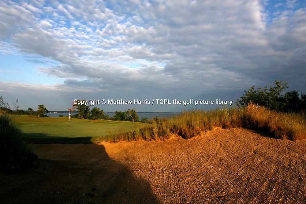 Sabonack Golf Club 18th par 5 ,Southampton,New York,USA.