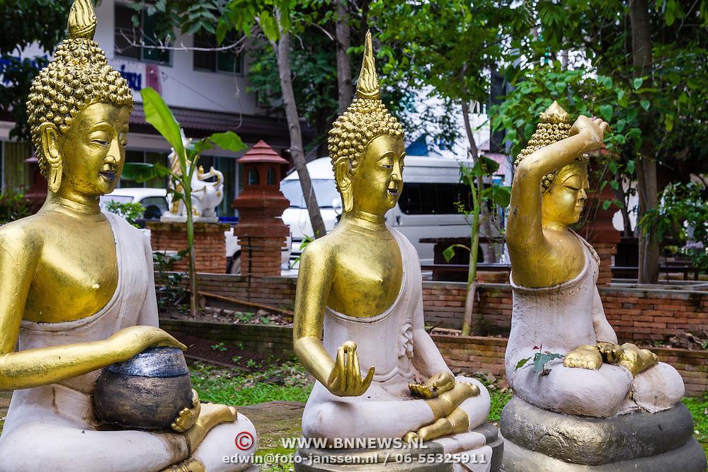 THA/Bangkok/20160729 - Vakantie Thailand 2016 Bangkok, Gouden Buddha's