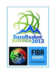 Logo presentation of Eurobasket Slovenia 2013 during final basketball game between National basketball teams of Spain and France at FIBA Europe Eurobasket Lithuania 2011, on September 18, 2011, in Arena Zalgirio, Kaunas, Lithuania.