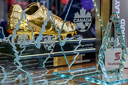September 3, 2017 - Toronto, Canada - Golden Boot award before the Canada-Jamaica Men's International Friendly match at BMO Field in Toronto, Canada, on 2 September 2017. (Credit Image: © Anatoliy Cherkasov/NurPhoto via ZUMA Press)