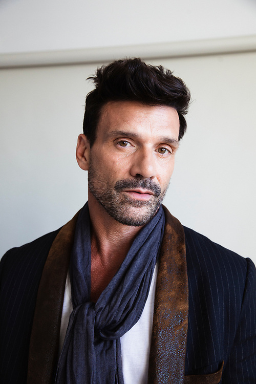 Actor Frank Grillo photographed for ONE37pm in 2018.