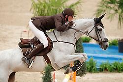 Staut Kevin (FRA) - Silvana de Hus<br /> Rolex FEI World Cup Final Jumping 2011<br /> © Hippo Foto - Leanjo de Koster